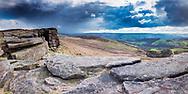 Stanage Edge, Peak District, Derbyshire.