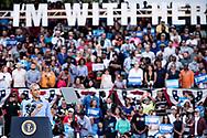 Amerikansk præsidentvalg 2016.<br /> Præsident Barack Obama talte for 11.000 fremmødte ved et valgmøde for Hillary Clinton i Kissimmee, Florida,