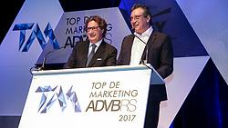 Top de Marketing ADVB 2017 ocorrido no teatro Bourbon Country. Na foto Sergio Maia e Alfredo Tellechea. FOTO: Marcos Nagelstein/Agência Preview
