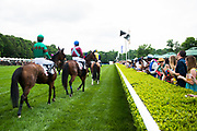 April 29, 2017, 22nd annual Queen's Cup Steeplechase. SARAH JOYCE and jockey Jack Doyle