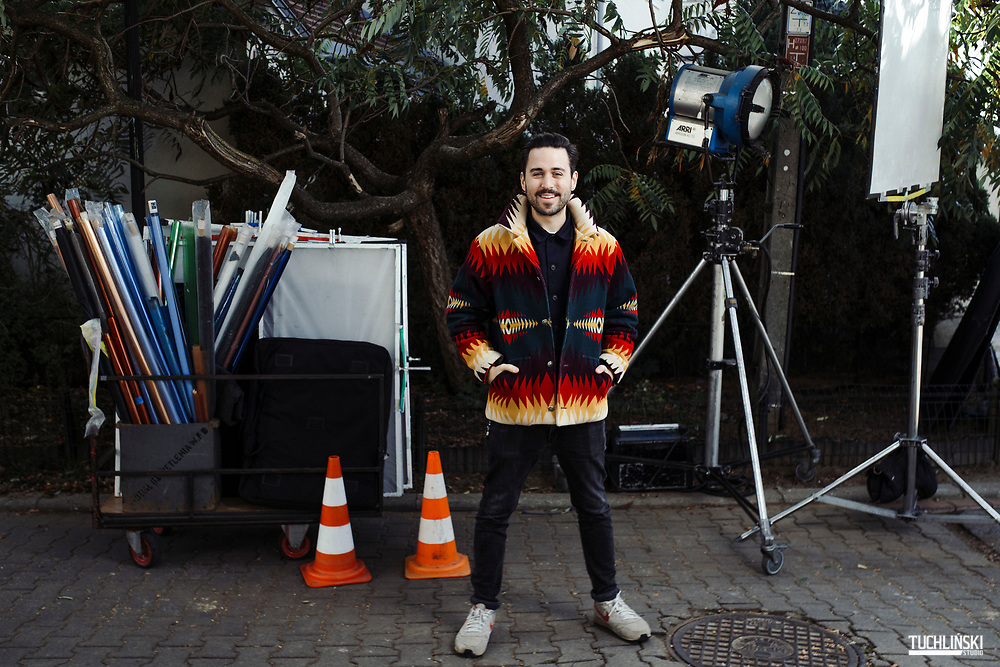 Warszawa, Polska; 04.10.2018r. Jan Kwiecinski producent filmowy - Firma Akson Studio.<br /> Fot. Adam Tuchliński dla Forbes