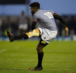 September 9, 2017 - Galway, Ireland - Kurt Coleman of Kings kicks a conversion during the Guinness PRO14 rugby match between Connacht Rugby and Southern Kings at the Sportsground in Galway, Ireland on September 9, 2017  (Credit Image: © Andrew Surma/NurPhoto via ZUMA Press)