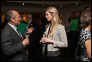 The hon Alexandra Foley hosts drinks to introduce ' Lady Foley Grand Tour' with special guest Julian Fellowes. the Sloane Club. Lower Sloane st. London. 14 May 2014