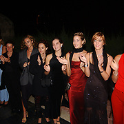 Miss Nederland 2003 reis Turkije, diner aan zee, hotel, alle missen