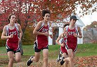 St Paul's School varsity cross country.  ©2020 Karen Bobotas Photographer