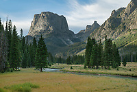 Squaretop Mountain Bridger Wilderness, Wind River Range Wyoming