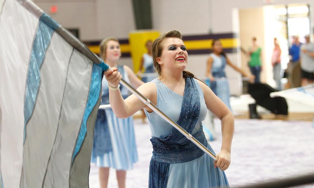 Denham Springs High School Winterguard and Percussion Show.LCGPC 2012.photo by Crystal LoGiudice