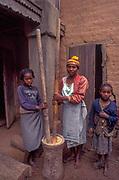 Poverty is rife in the Fianarantsua Highlands of Madagascar