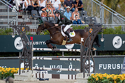 Broderick Greg Patrick, IRL, Mhs Going Global<br /> Furusiyya FEI Nations Cup Jumping Final - Barcelona 2016<br /> © Hippo Foto - Dirk Caremans<br /> 25/09/16