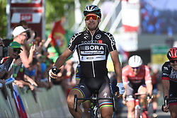June 17, 2017 - Schaffhausen, Suisse - SCHAFFHAUSSEN, SWISS - JUNE 17 : SAGAN Peter (SVK) Rider of Team Bora - Hansgrohe during stage 8 of the Tour de Suisse cycling race, a stage of 100 kms between Schaffhaussen and Schaffhaussen on June 17, 2017 in Schaffhaussen, Swiss, 17/06/2017 (Credit Image: © Panoramic via ZUMA Press)