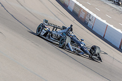 February 9, 2018 - Avondale, Arizona, United States of America - February 09, 2018 - Avondale, Arizona, USA: Jordan King (20) takes his IndyCar Verizon car through the turns during the Prix View at ISM Raceway in Avondale, Arizona. (Credit Image: © Walter G Arce Sr Asp Inc/ASP via ZUMA Wire)