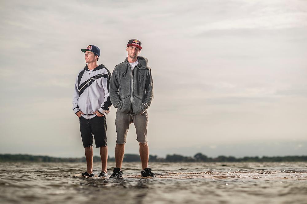 Adam Errington and Terry Adams shot for Red Bull in Orlando, Florida.