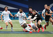 Virimi Vakatawa of Racing 92, Elliot Daly of Saracens during the Champions Cup, semi-final rugby union match between Racing 92 and Saracens on September 26, 2020 at Paris La Defense Arena in Nanterre near Paris, France - Photo Juan Soliz / ProSportsImages / DPPI