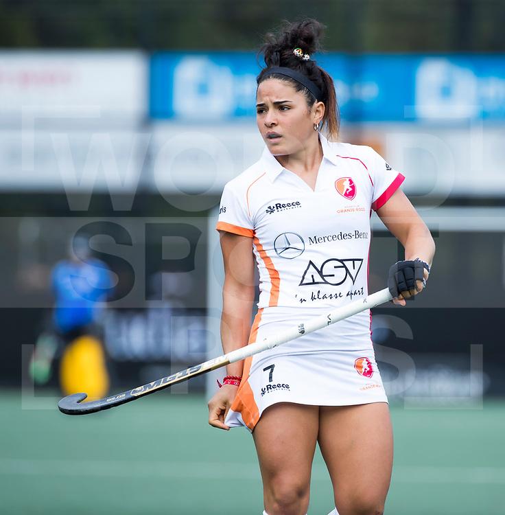 DEN BOSCH - Maria Jose Granatto (OR)   tijdens   hoofdklasse hockey competitie dames , HC Den Bosch-Oranje Rood (0-1) . COPYRIGHT  KOEN SUYK