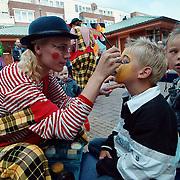 Kindermiddag 2000 Oostermeent Huizen, kind sminken