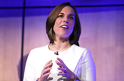 Williams Formula One deputy team principal Claire Williams during the Williams 2019 livery launch at Williams Conference Centre, Grove.