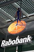 Koningin Maxima bezoekt het hoofdkantoor van de Rabobank voor het jubileumsymposium van Qredits. De landelijke microfinancierings organisatie bestaat 5 jaar. <br /> <br /> Queen Maxima visits the headquarters of Rabobank for the jubilee symposium Qredits. The rural microfinance organization is five years.<br /> <br /> Op de foto/On the photo:  Hoofdkantoor Rabobank / Headquaters Rabobank