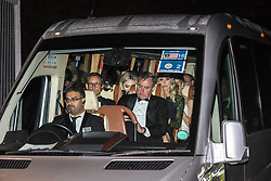 © Licensed to London News Pictures. 04/06/2019. London, UK. Tiffany Trump, Lara Trump & Ivanka Trump leave Winfield House, the US ambassadorís residence in Regentís Park in a blacked out people carrier after a dinner hosted by US President Donald Trump and First Lady Melania Trump bringing a  conclusion to day 2 of the state visit to the UK.   Photo credit: Guilhem Baker/LNP