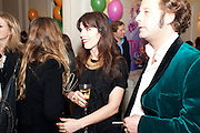 LARA BOHINC; LARS VON BENNIGSEN, Kate Reardon and Michael Roberts host a party to celebrate the launch of Vanity Fair on Couture. The Ballroom, Moet Hennessy, 13 Grosvenor Crescent. London. 27 October 2010. -DO NOT ARCHIVE-© Copyright Photograph by Dafydd Jones. 248 Clapham Rd. London SW9 0PZ. Tel 0207 820 0771. www.dafjones.com.