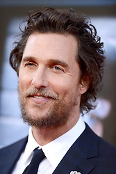 Matthew McConaughey attends the premiere of Universal Pictures' 'Sing' on December 3, 2016 in Los Angeles, California. Photo by Lionel Hahn/AbacaUsa.com