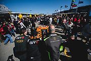 January 24-27, 2019. IMSA Weathertech Series ROLEX Daytona 24. GRT Grasser Racing Team Lamborghini Huracan GT3, Orange 1 Racing, GTD mechanic