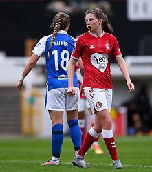 Emma Bissell of Bristol City Women - Mandatory by-line: Ryan Hiscott/JMP - 18/10/2020 - FOOTBALL - Twerton Park - Bath, England - Bristol City Women v Birmingham City Women - Barclays FA Women's Super League
