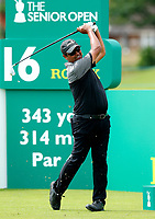 Golf - 2019 Senior Open Championship at Royal Lytham & St Annes - First Round <br /> <br /> Michael Campbell (NZ) drives off the 16th tee.<br /> <br /> COLORSPORT/ALAN MARTIN