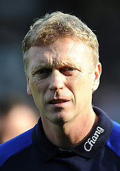 23.10.2011, Craven Cottage, London, ENG, PL, FC Fulham vs FC Everton, im Bild Everton manager David Moyes looks on // during the Premier League match between FC Fulham vs FC Everton, at Craven Cottage stadium, London, United Kingdom on 23/10/2011. EXPA Pictures © 2011, PhotoCredit: EXPA/ Propaganda Photo/ Chris Brunskill +++++ ATTENTION - OUT OF ENGLAND/GBR+++++