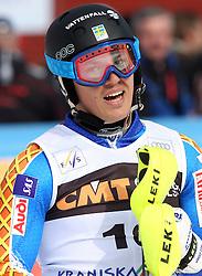 Andre Myhrer at 9th men's slalom race of Audi FIS Ski World Cup, Pokal Vitranc,  in Podkoren, Kranjska Gora, Slovenia, on March 1, 2009. (Photo by Vid Ponikvar / Sportida)