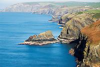 Pembroke coast, Wales
