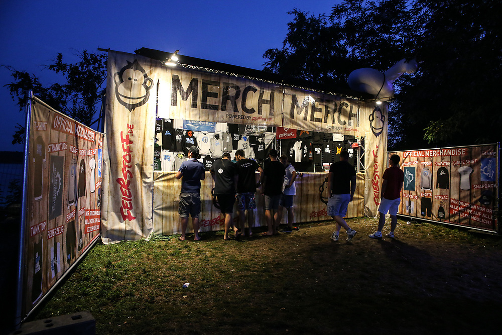 Helene Beach Festival 2018, Helenesee, Frankfurts Oder, 27.07.2018<br /> Merchadising<br /> © Torsten Helmke