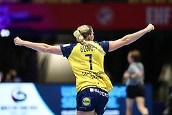 HERNING, DENMARK - DECEMBER 3, 2020: Linn Blohm (7) of Sweden during the EHF Euro 2020 Group C match between Sweden and Czech Republic in Jyske Bank Boxen, Herning, Denmark on December 3 2020. Photo Credit: Allan Jensen/EVENTMEDIA.