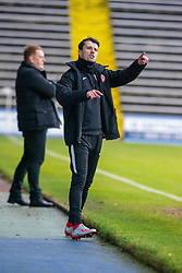 Brora Rangers manager Steven MacKay. Morton 1 v 1 Brora Rangers, 3rd Round of the Scottish Cup played 23/11/2019 at Cappielow, Greenock.
