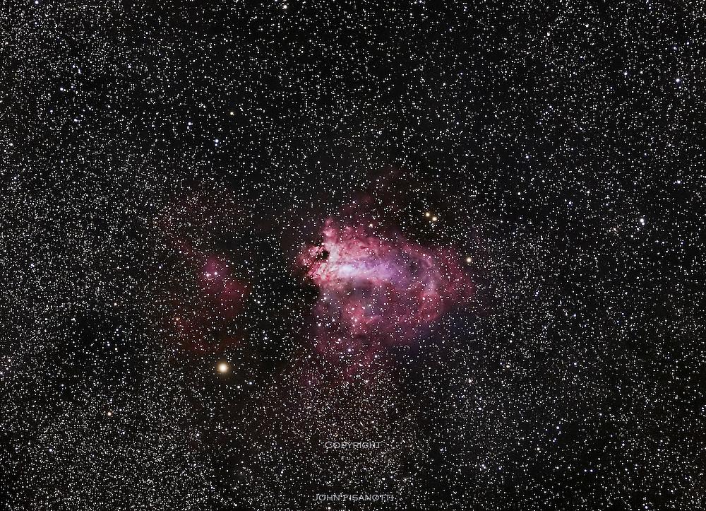 Swan Nebula (aka Omega Nebula) (M17)