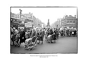 Housewives march in protest at the introduction of a new 'Turnover Tax'.<br /> <br /> 14/11/1963<br /> <br /> 14th November 1963