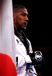 Anthony Joshua prior to the fight against Andy Ruiz Jr at Madison Square Garden, New York.