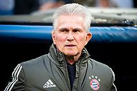 Bayern Munich coach Jupp Heynckes during Semi Finals UEFA Champions League match between Real Madrid and Bayern Munich at Santiago Bernabeu Stadium in Madrid, Spain. May 01, 2018. (ALTERPHOTOS/Borja B.Hojas)