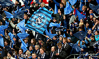 Fotball, 9. november 2008, NM finale , Cupfinale Cup-finale Vålerenga - Stabæk 4-1<br /> <br /> publikum , fan fans  , flagg , skjerf