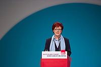 DEU, Deutschland, Germany, Berlin, 10.12.2015: Heidemarie Wieczorek-Zeul (SPD) beim Bundesparteitag der SPD im CityCube.