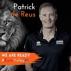 Manager Patrick de Reus of Netherlands, Photoshoot selection of Orange men's volleybal team season 2021on may 11, 2021 in Arnhem, Netherlands (Photo by RHF Agency/Ronald Hoogendoorn)