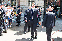Real Madrid's James Rodriguez leaves Seat of Government in Madrid, May 22, 2017. Spain.<br /> (ALTERPHOTOS/BorjaB.Hojas)