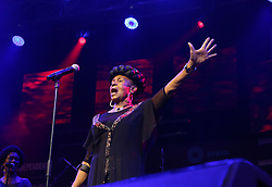 Apr 1, 2016 - Cape Town, Western Cape , South Africa - ABIGAIL KUBEKA  performed at the 16th Annual Cape Town Jazz Festival, that took place at the Cape Town International Convention Centre. (Credit Image: © Bertram Malgas via ZUMA Wire)