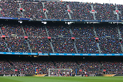 March 18, 2018 - Barcelona, Spain - FC Barcelona attack during the match between FC Barcelona and Athletic Club, played at the Camp Nou Stadium on 18th March 2018 in Barcelona, Spain. (Credit Image: © Joan Valls/NurPhoto via ZUMA Press)