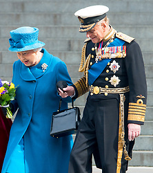 Buckingham Palace has announced Prince Philip, The Duke of Edinburgh, has passed away age 99 - FILE - Queen Elizabeth II and Prince Philip, Duke of Edinburgh attend a Service of Commemoration for those who served in Afghanistan at St Pauls Cathedral in central London, UK, on March 13, 2015. Photo by Robin Utrecht/ABACAPRESS.COM