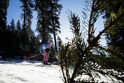 Dmitry Malyshko (RUS) during Men 15 km Mass Start at day 4 of IBU Biathlon World Cup 2015/16 Pokljuka, on December 20, 2015 in Rudno polje, Pokljuka, Slovenia. Photo by Ziga Zupan / Sportida