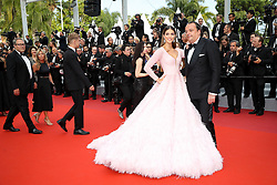 Iris Mittenaere attends the screening of Oh Mercy! (Roubaix, une Lumiere) during the 72nd annual Cannes Film Festival on May 22, 2019 in Cannes, France. Photo by Shootpix/ABACAPRESS.COM