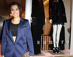 Samantha Barks attends the Sandro flagship store launch party, London, England. Wednesday, 11th September 2013. Picture by i-Images