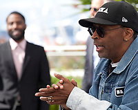 Director Spike Lee at the Blackkklansman (Black Klansman)  film photo call at the 71st Cannes Film Festival, Tuesday 15th May 2018, Cannes, France. Photo credit: Doreen Kennedy