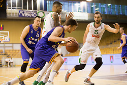 Blaz Mahkovic of KK Helios Suns during basketball match between KK Petrol Olimpija and KK Helios Suns in Playoffs of Liga Nova KBM 2017/18, on April 25, 2018 in Tivoli sports hall, Ljubljana, Slovenia. Photo by Urban Urbanc / Sportida