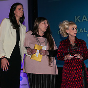 London, UK. 31th October, 2016. Laura Brown,Dame Barbara Windsor presents the Long Service awards to Kathy Baker, Westminster at Team London Awards at City Hall, London,UK. Photo by See Li